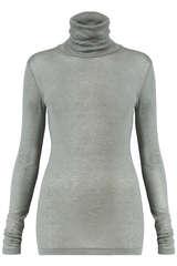 Rollkragenshirt aus Tencel© und Wolle  - CLOSED