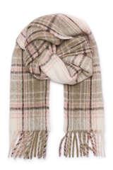 Schal mit Alpaka Wolle - CLOSED