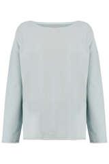 Sweatshirt mit Rollkanten - JUVIA