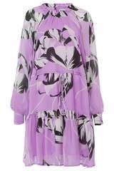 Kleid aus Viskose-Chiffon - ESSENTIEL ANTWERP