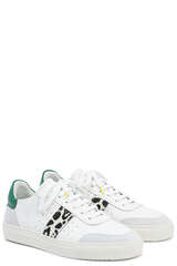 Sneakers Dunk V2 White/Lepard/Green - AXEL ARIGATO