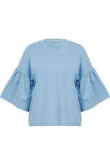 Shirt mit Volant-Ärmeln - DRYKORN