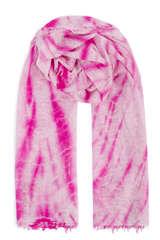 Handgefilzter Cashmere Schal Java Neon Pink - PUR SCHOEN