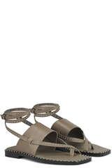 Zehentrenner-Sandalen mit Nieten - ASH