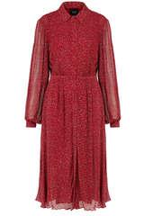 Kleid Suzi aus Viskose Chiffon  - IDANO