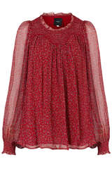 Bluse Solange aus Viskose Stretch  - IDANO