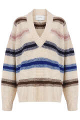 Pullover mit Honeycomb Muster - MUNTHE