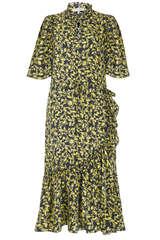 Midi-Kleid mit Viskose  - MUNTHE