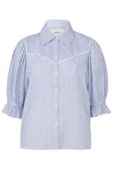 Gestreifte Bluse aus Baumwolle - BA&SH