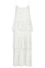 Maxi-Kleid Tatiana mit Punktemuster - SAMSOE SAMSOE