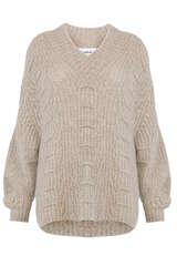 Pullover mit Merino und Alpaka - BA&SH