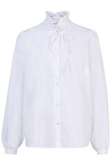Bluse mit Rüschenkragen - IVY & OAK