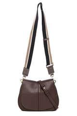 Saddle Bag aus genarbtem Leder - GIANNI CHIARINI