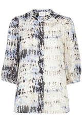 Bluse mit Batik-Print - SECOND FEMALE