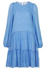 Mini-Kleid aus Viskose-Chiffon - SECOND FEMALE