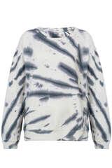 Sweatshirt mit Batikmuster - JUVIA