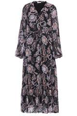 Kleid aus Viskose-Chiffon - BLOOM
