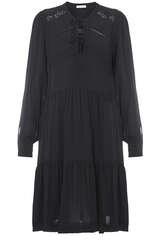 Kleid aus Viskose mit Spitzendetails - BLOOM