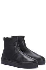 Sneaker Boots aus Leder - AGL