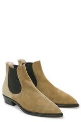 Chelsea Boots aus Veloursleder - AGL