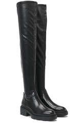 Overknee-Stiefel aus veganem Kunstleder - ASH