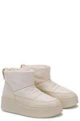 Plateau Boots aus Lederimitat - ASH