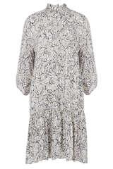 Mini-Kleid aus Viskose - SECOND FEMALE
