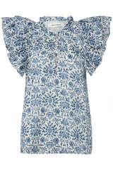 Bluse mit Floral-Muster - SOFIE SCHNOOR