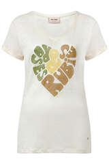 T-Shirt aus Leinen  - MOS MOSH