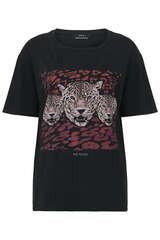 T-Shirt mit Print  - SET