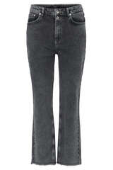 Wide Leg Jeans mit Destroyed Effekt - SET