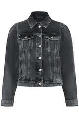 Jeansjacke mit Destroyed Waschung - SET