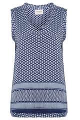 Bluse mit Kufiya-Muster - CECILIE COPENHAGEN