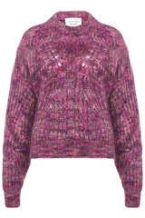 Pullover mit Ajour-Details - LES COYOTES DE PARIS