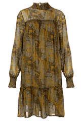 Kleid aus Viskose-Chiffon - IHEART