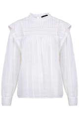 Bluse aus Baumwoll-Musselin  - SET