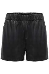 Shorts in veganer Lederoptik - ANINE BING