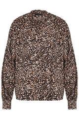 Bluse aus Baumwoll-Stretch  - SET