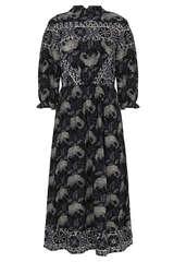 Midi-Kleid Gelato aus Viskose - BA&SH