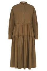 Midi-Kleid mit Baumwolle - IHEART