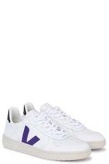 Sneaker V-10 Extra White Purple Black - VEJA