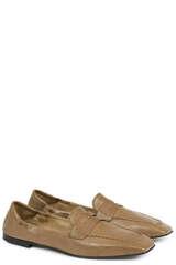 Loafer Tracy aus Leder - POMME D´OR