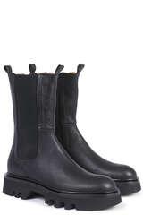 Chunky Boots aus Leder  - POMME D´OR