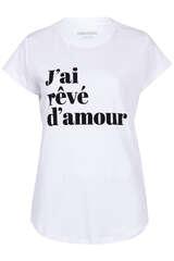 T-Shirt mit Flock-Print - ZADIG & VOLTAIRE