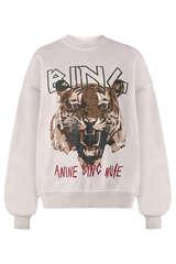 Sweatshirt Tiger  - ANINE BING