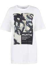 T-Shirt aus Bio-Baumwolle  - MUNTHE