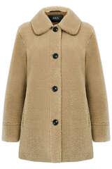 Fake Fur Jacke in Shirt-Optik - SET