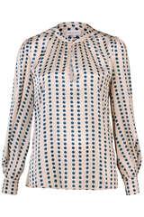 Bluse Stacy aus Seiden-Stretch - KUDIBAL