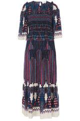 Kleid Mandie mit Smokdetail  - BA&SH