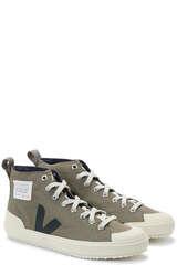 Sneaker Nova High Ripstop Khaki/ Black - VEJA